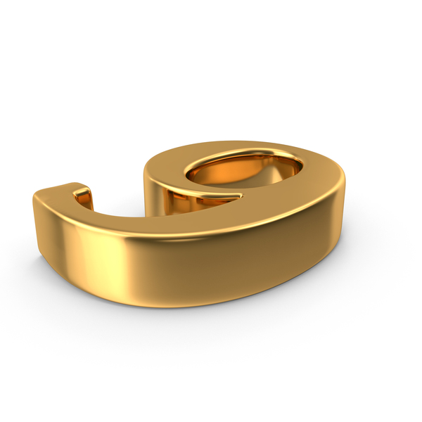 Gold Number 9 PNG & PSD Images