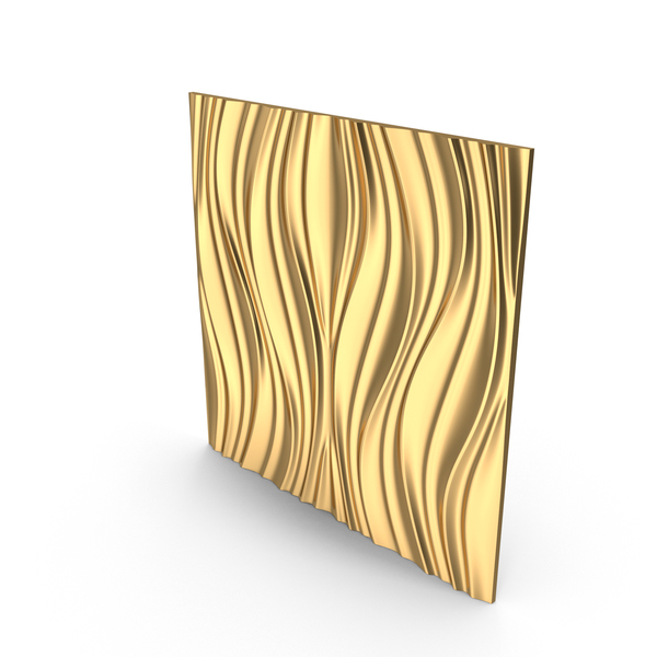 Gold Panel Lotos PNG & PSD Images