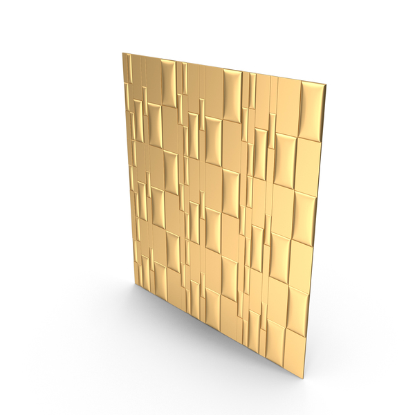 Gold Panel Wall PNG & PSD Images