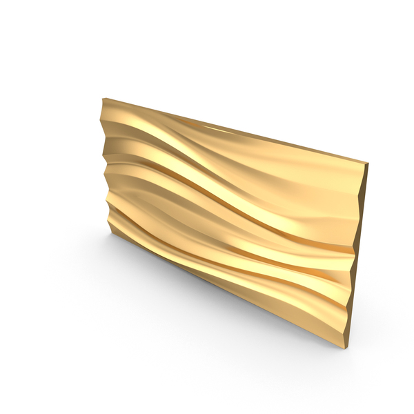 Gold Panel Wave PNG & PSD Images