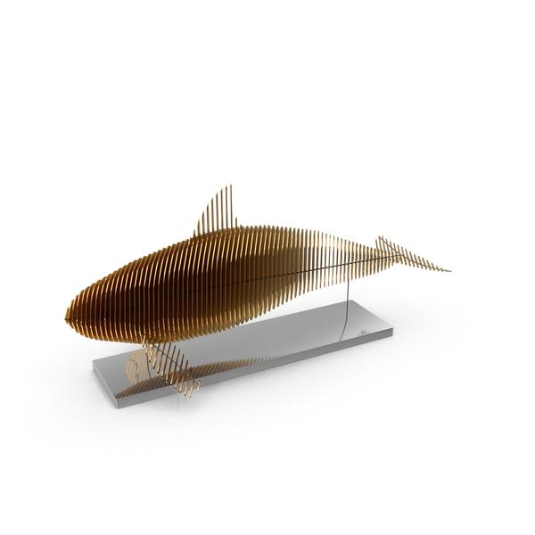 Gold Parametric Decor Killer Whale PNG & PSD Images