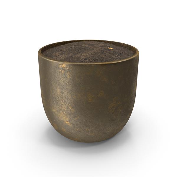 Gold Pot PNG & PSD Images