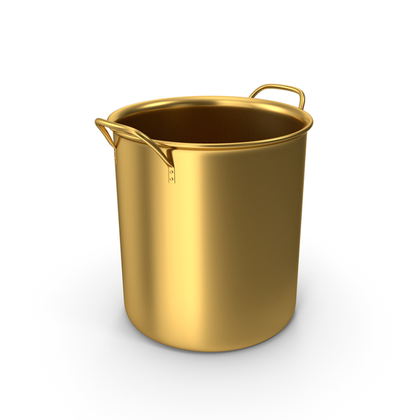 Gold Pot No Cap PNG & PSD Images