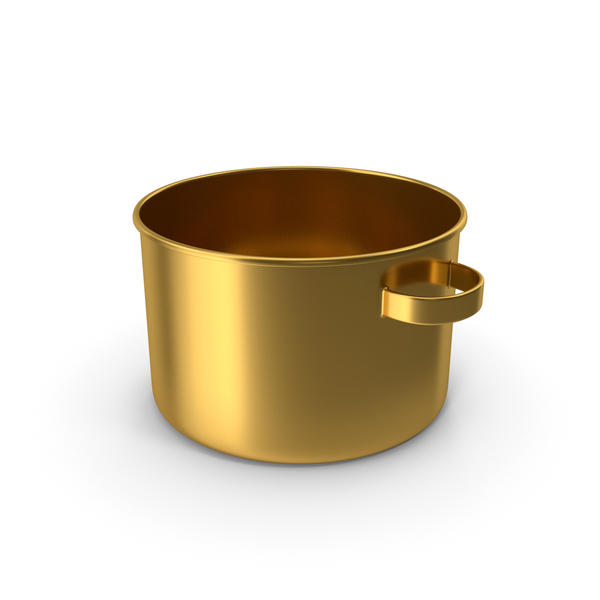 Gold Pot No Cup PNG & PSD Images