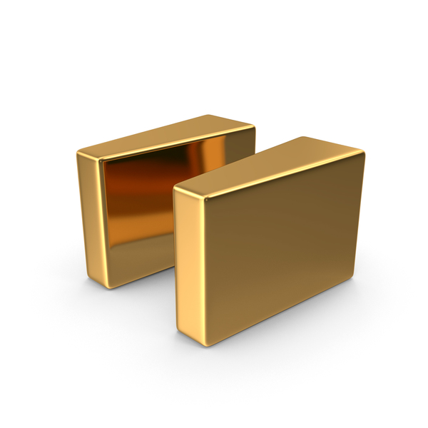 Gold Quote Symbol Object