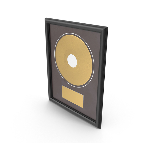 Gold Record Award PNG & PSD Images