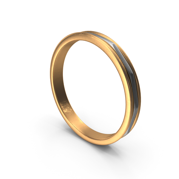 Gold Silver Ring PNG & PSD Images