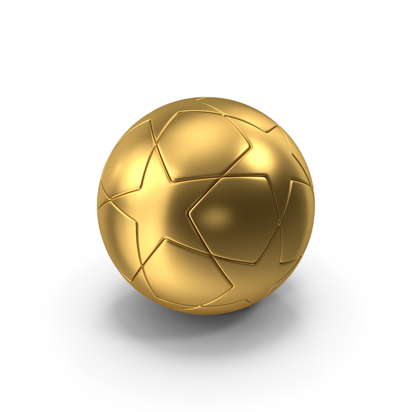 Gold Soccer Ball PNG & PSD Images