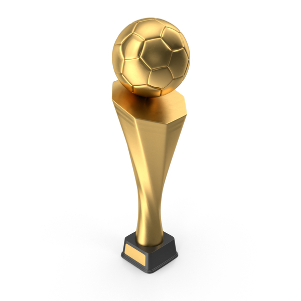 Gold Soccer Trophy Cup PNG & PSD Images