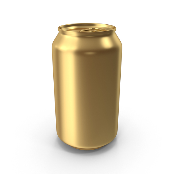 Gold Soda Can PNG & PSD Images