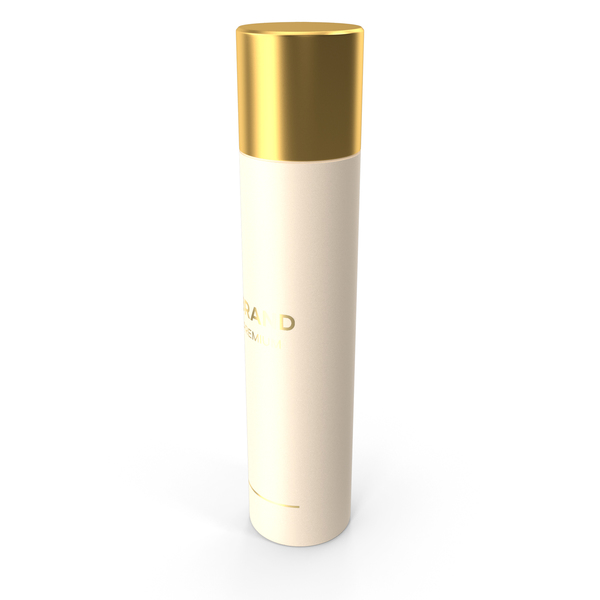 Gold Spray Bottle PNG & PSD Images