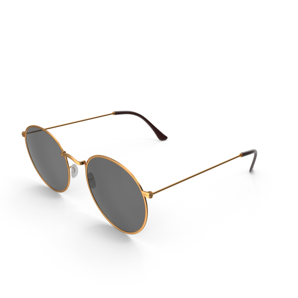 Gold Sunglasses PNG & PSD Images