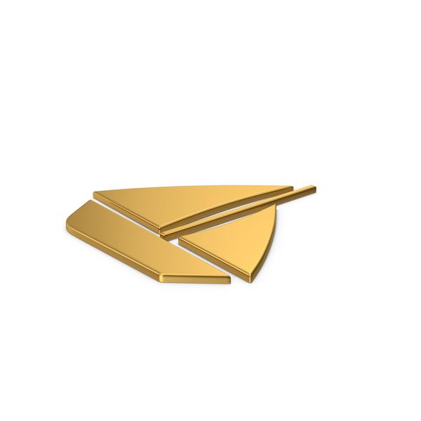 Symbols: Gold Symbol Boat PNG & PSD Images