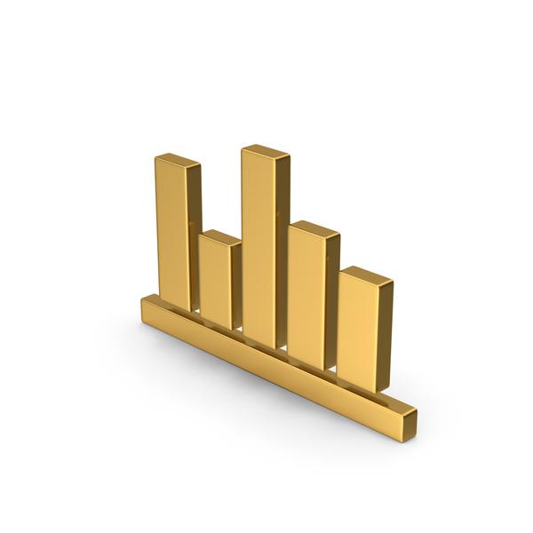 Line: Gold Symbol Chart PNG & PSD Images