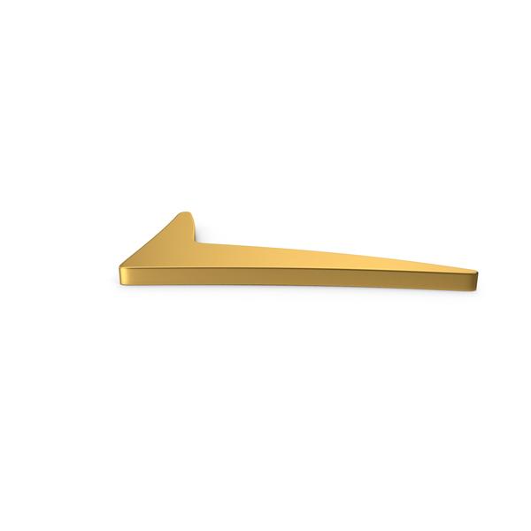 Gold Symbol Checkmark PNG & PSD Images