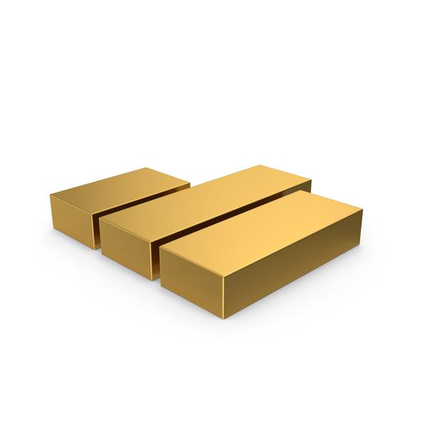 Line Chart: Gold Symbol Graph PNG & PSD Images