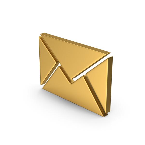 Logo: Gold Symbol Message PNG & PSD Images