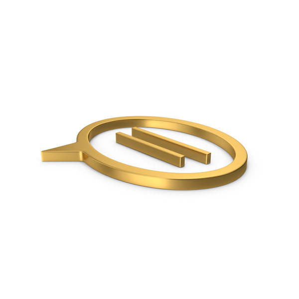 Computer Icon: Gold Symbol Mind PNG & PSD Images