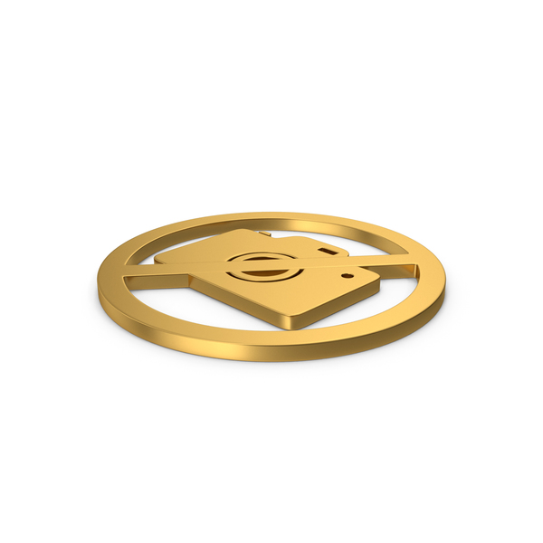 Logo: Gold Symbol No Photography PNG & PSD Images