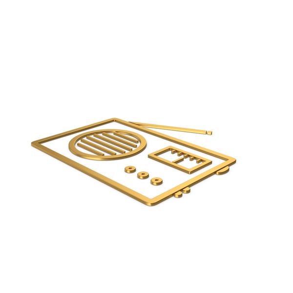 Logo: Gold Symbol Radio PNG & PSD Images
