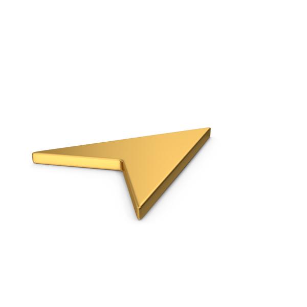 Symbols: Gold Symbol Send Button / Arrow PNG & PSD Images