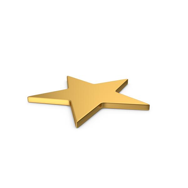 Logo: Gold Symbol Star PNG & PSD Images