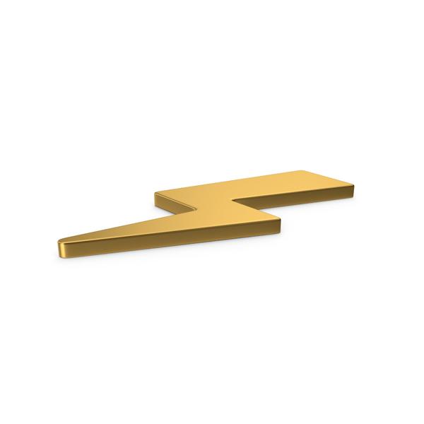 Meteorology Symbols: Gold Symbol Storm PNG & PSD Images