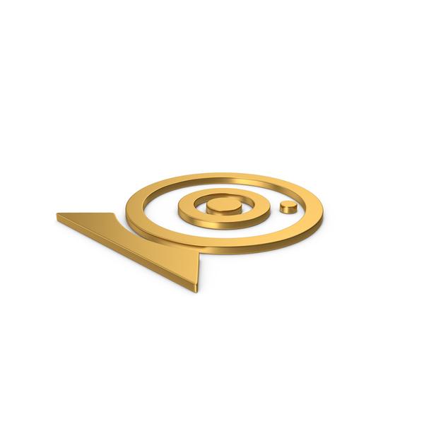 Camera: Gold Symbol Webcam PNG & PSD Images