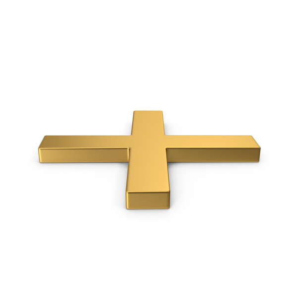 Computer Icon: Gold Symbol X Mark PNG & PSD Images