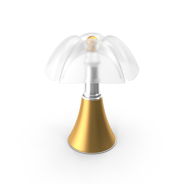 Gold Table Lamp PNG & PSD Images