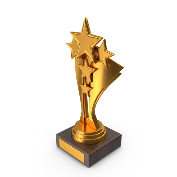 Gold Trophy PNG & PSD Images
