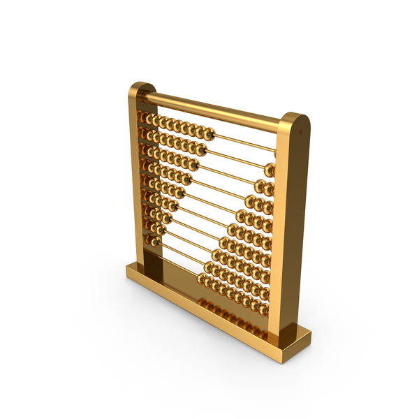 Golden Abacus PNG & PSD Images