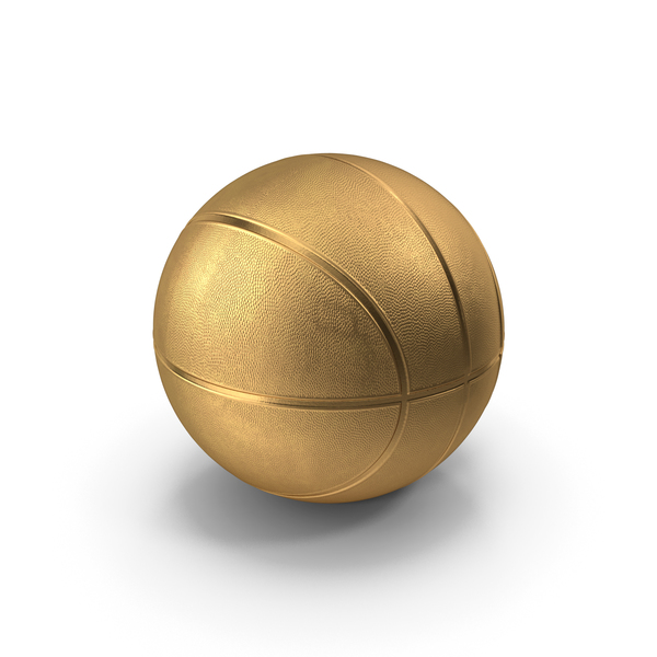 Golden basketball PNG & PSD Images