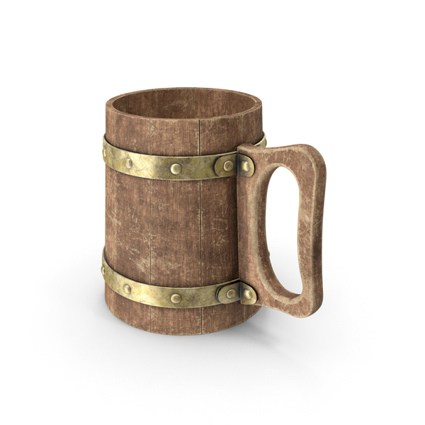Golden Beer Stein PNG & PSD Images