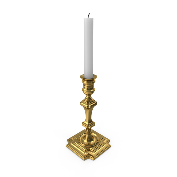 Golden Candle Holder Eichholtz Swan PNG & PSD Images
