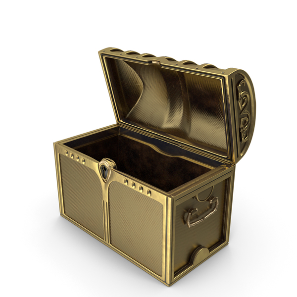 Golden Chest Open PNG & PSD Images