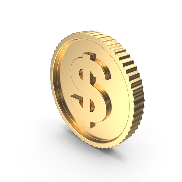 Golden Coin Light PNG & PSD Images