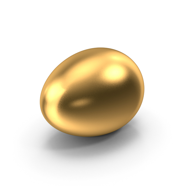 Easter: Golden Egg PNG & PSD Images