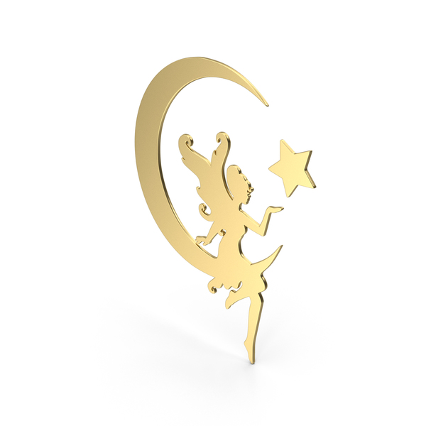 Golden Fairy Symbol PNG & PSD Images