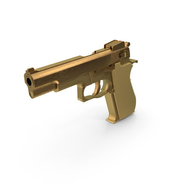 Rifle: Golden Gun PNG & PSD Images