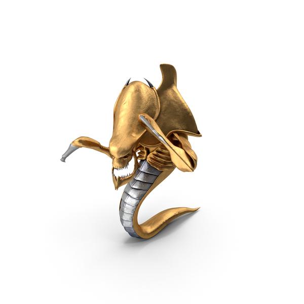 Monster: Golden Hydralisk PNG & PSD Images