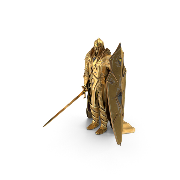 Wizard Hat: Golden Knight PNG & PSD Images