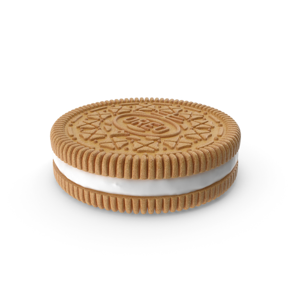 Golden Oreo Cookie PNG & PSD Images