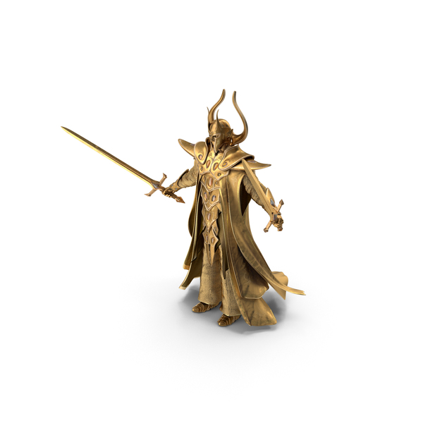 Wizard Hat: Golden Paladin PNG & PSD Images