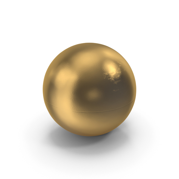 Golden Ping Pong Ball PNG & PSD Images