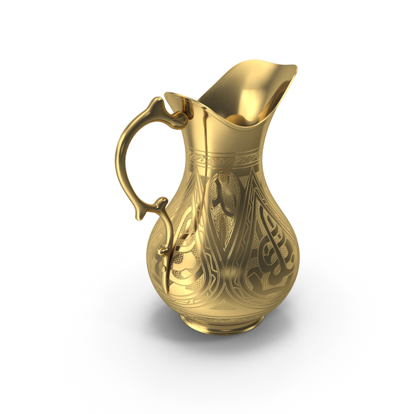 Golden Pitcher PNG & PSD Images