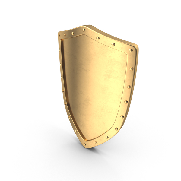 Golden Shield PNG & PSD Images