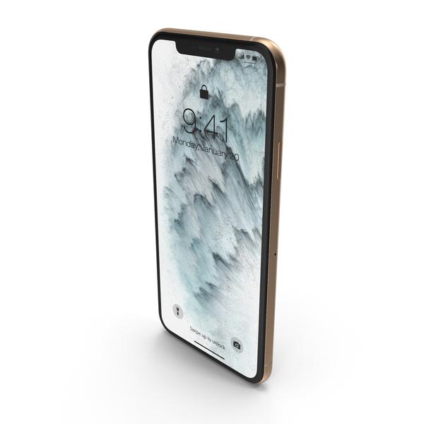 Golden Smartphone PNG & PSD Images