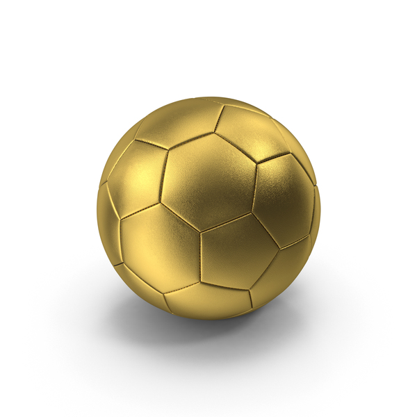 Golden Soccer Ball PNG & PSD Images