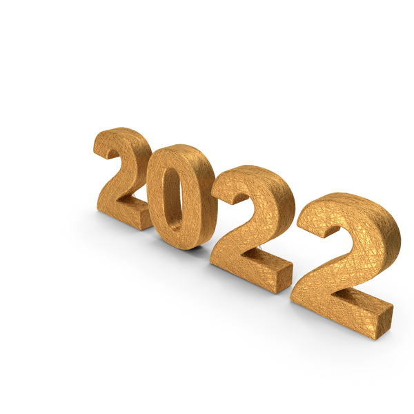 Number: Golden Threads 2022 PNG & PSD Images